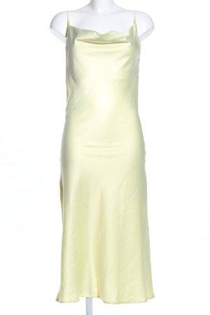 Storets Trägerkleid blassgelb Elegant