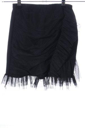 Storets Jupe en tulle noir style festif