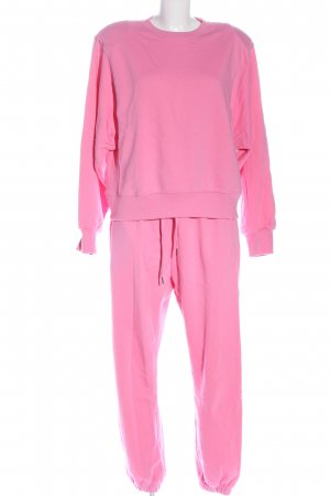Storets Woven Twin Set pink casual look