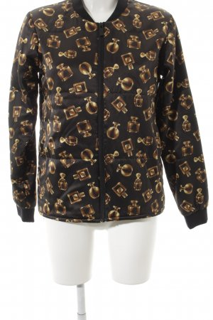 Storm & Marie Bomber Jacket abstract pattern street-fashion look