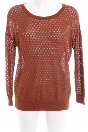 Storm & Marie Knitted Sweater russet casual look