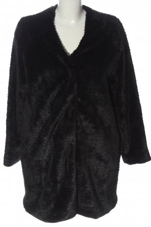Storm & Marie Teddy Coat black casual look