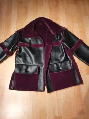 Story of Lola Reversible Jacket black-blackberry-red