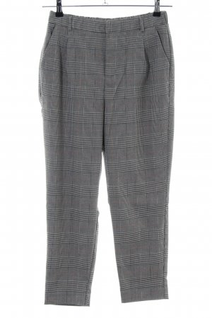 Stradivarius Chinos grey-light grey check pattern business style