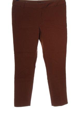 Stradivarius 7/8 Length Trousers brown elegant