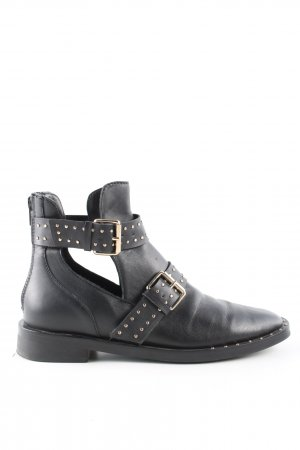 Stradivarius Ankle Boots black casual look