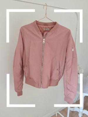 Stradivarius Bomber Jacket pink