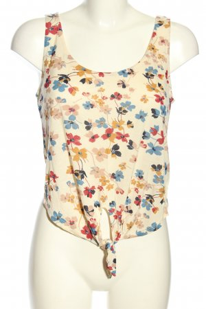 Stradivarius Cropped Top allover print casual look