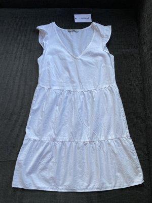 Stradivarius Damen Sommerkleid Weiß Gr. S NEU !!