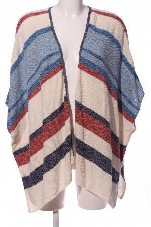 Stradivarius Knitted Poncho allover print casual look