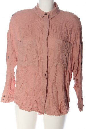 Stradivarius Hemd-Bluse nude Business-Look