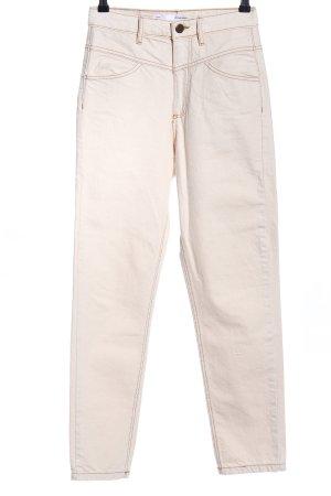 Stradivarius High Waist Jeans natural white casual look