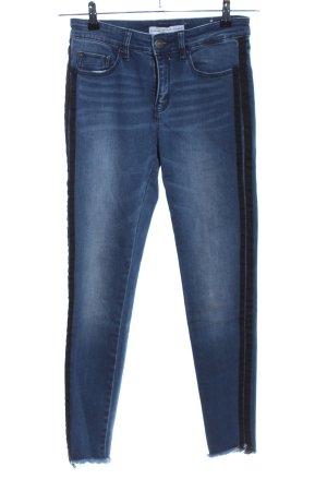 Stradivarius High Waist Jeans blau Casual-Look