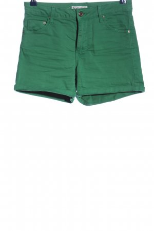 Stradivarius High-Waist-Shorts green casual look