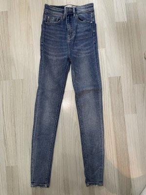 Stradivarius High Waist Jeans multicolored