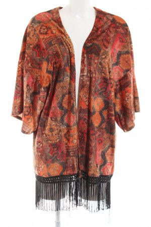 Stradivarius Kimono stampa integrale stile casual