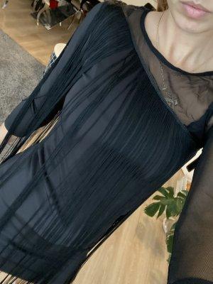 Stradivarius Fringed Dress black