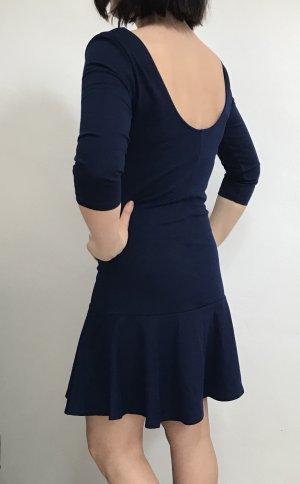 Stradivarius Kleid marineblau Gr.38