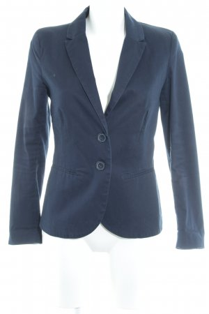 Stradivarius Kurz-Blazer dunkelblau Business-Look
