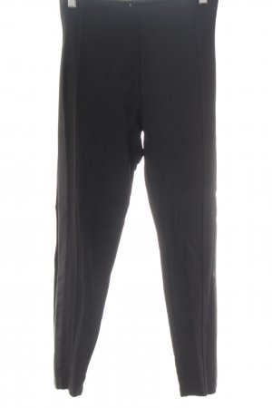 Stradivarius Leggings schwarz Business-Look