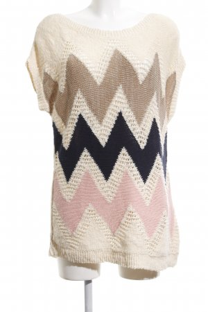 Stradivarius Long Cardigan graphic pattern casual look