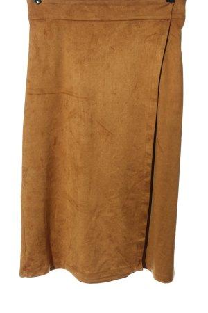 Stradivarius Spódnica midi brązowy W stylu casual