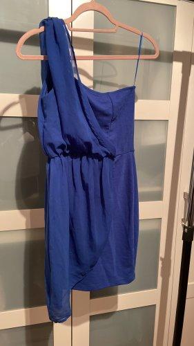 Stradivarius One Shoulder Kleid in Königsblau