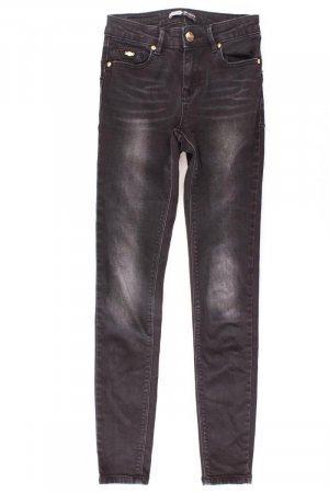 Stradivarius Regular Jeans schwarz Größe 34