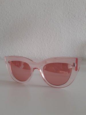 Stradivarius Hoekige zonnebril lichtroze-roze
