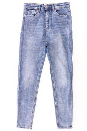 Stradivarius Skinny Jeans Größe 38 blau aus Baumwolle