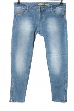 Stradivarius Slim Jeans blau Casual-Look
