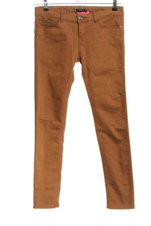 Stradivarius Slim Jeans braun Casual-Look