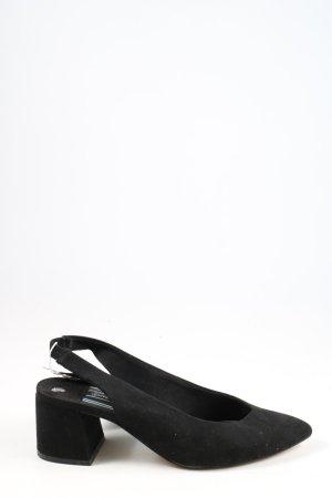 Stradivarius Slingback pumps zwart casual uitstraling