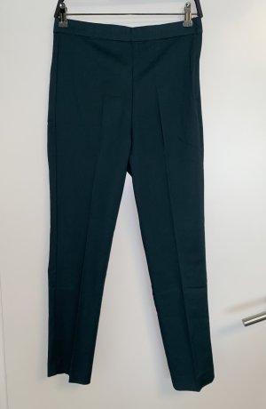 Stradivarius Peg Top Trousers cadet blue-petrol