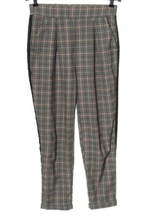 Stradivarius Jersey Pants check pattern casual look
