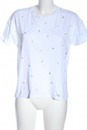 Stradivarius T-Shirt weiß Casual-Look