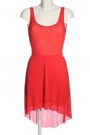 Stradivarius High Low Dress red party style