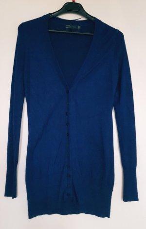 strahlend blauer Zara Cardigan Größe M