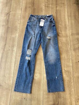 C&A Clockhouse Straight Leg Jeans multicolored