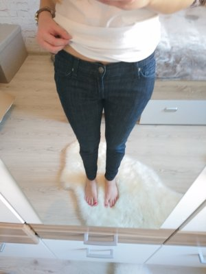 Straight-Leg Jeans / 28 / dunkelblau