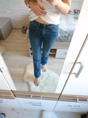 Straight-Leg Jeans / blau / 36