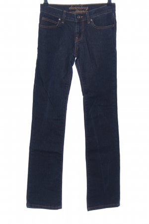 duesenberg Straight-Leg Jeans blau Casual-Look
