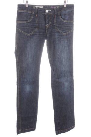 Straight-Leg Jeans dunkelblau Casual-Look