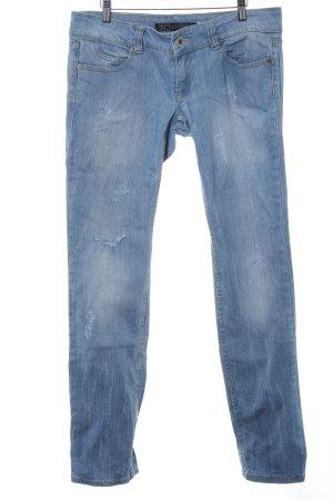 Straight-Leg Jeans himmelblau Casual-Look