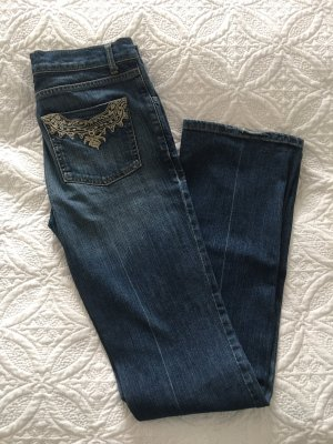 Straight leg Jeans mit besonderen Details hinten