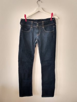 Straight Leg Jeans mit langem Bein