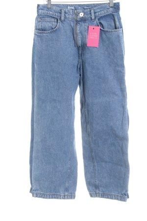 Straight-Leg Jeans stahlblau Casual-Look