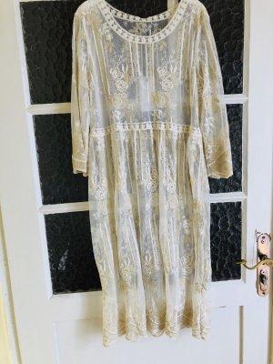 Strój kąpielowy (sukienka) złoto
