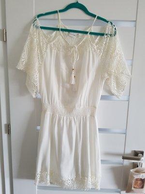 Strand Kleid mit Spitze