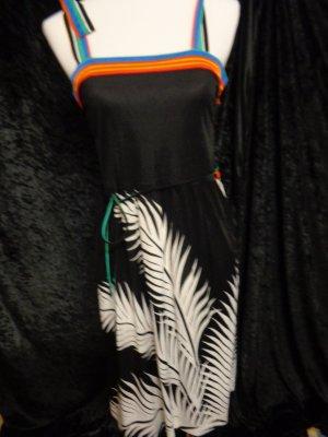 Vestito da spiaggia multicolore Poliestere